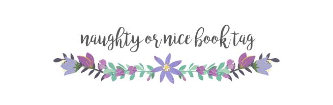 naughty or nice book tag